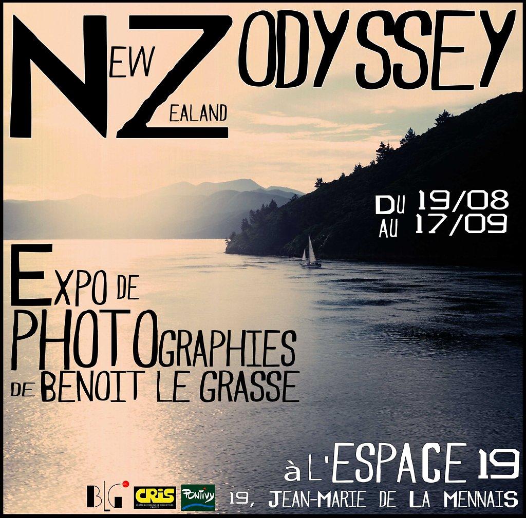 Exhibition NZ Odyssey in France
